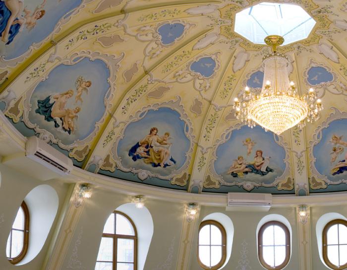 Мансарда - как во дворце. /Фото:stroi.mos.ru