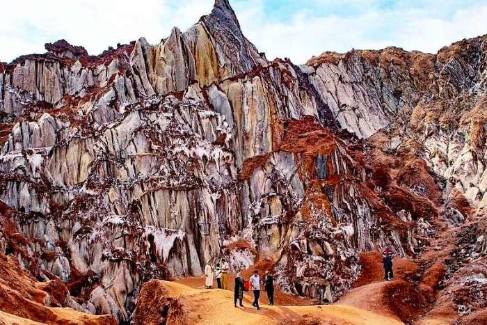 Скалы, словно на фантастической планете. /Фото:ca-irnews.com