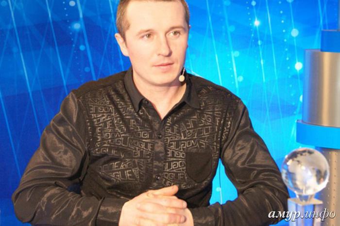 Ледовых дел мастер Алексей Сидоров. /Фото:amur.info
