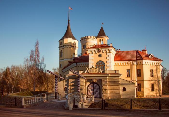 Здание в стиле средневековых замков выглядело очень симпатично. /Фото:booking.com