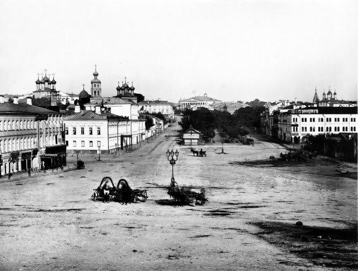 Трубная площадь в 1880-е годы. /Фото: svastour.ru