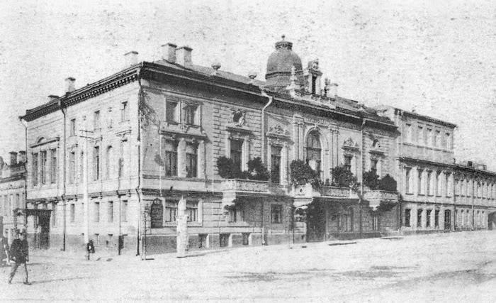 Легендарный ресторан дореволюционной Москвы. Фото:liveinternet.ru