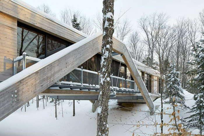 Дом-мост в Канаде. /Фoто:Magazindomov.ru