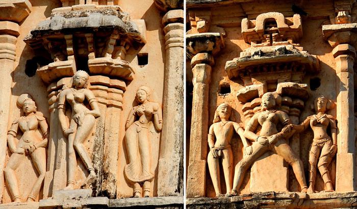 Здание покрыто каменными фигурами, словно кружевом. /Фото:Фото:dergachev-va.livejournal.com