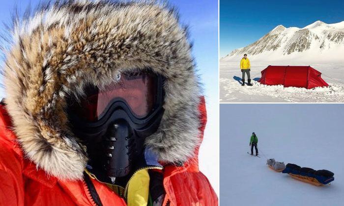 Антарктида ждет своего героя/ На фото - один из претендентов на победу. /Фото:dailymail.co.uk