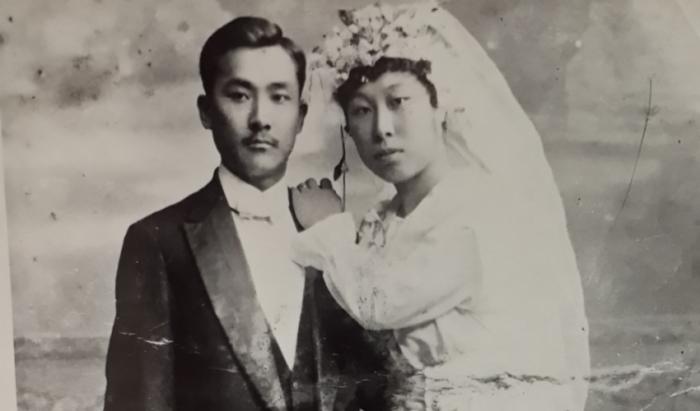 Корейская свадьба во Владивостоке, 1897 год. /Фото: cайт Старый Владивосток