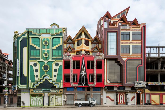 Дома в этом городе не только разноцветные, но еще и фантастические. / Фото:yimg.com