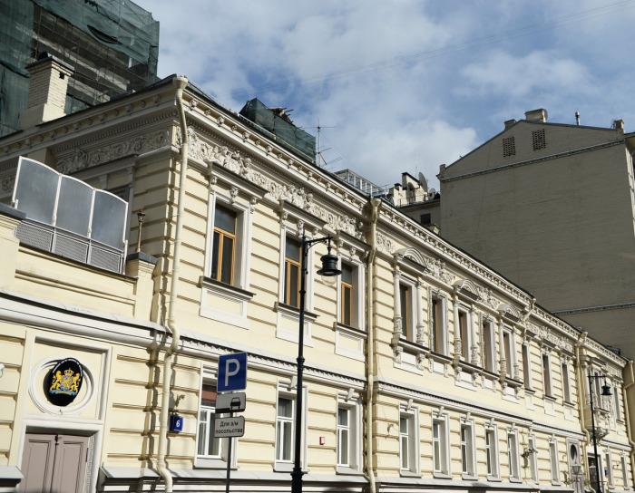 Дом с интересной и вполне благополучной историей. /Фото:РИА Новости, Валерий Мельников<br>