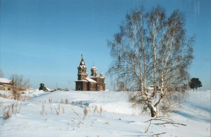 Ещё одно фото, которое будет напоминать о старинной церкви. /Фото: П.Рачковский