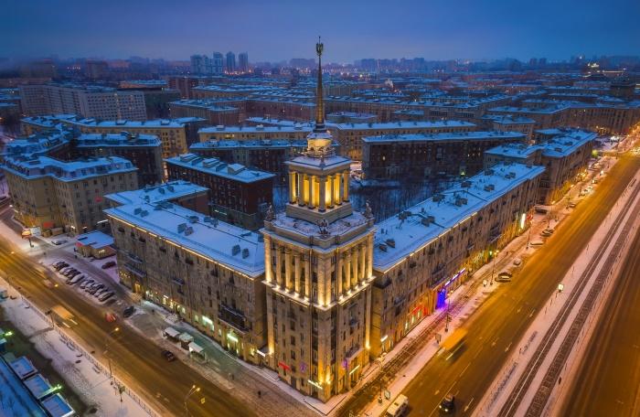 Дом со шпилем. Вид сверху. /Фото:zaburdaev.ru