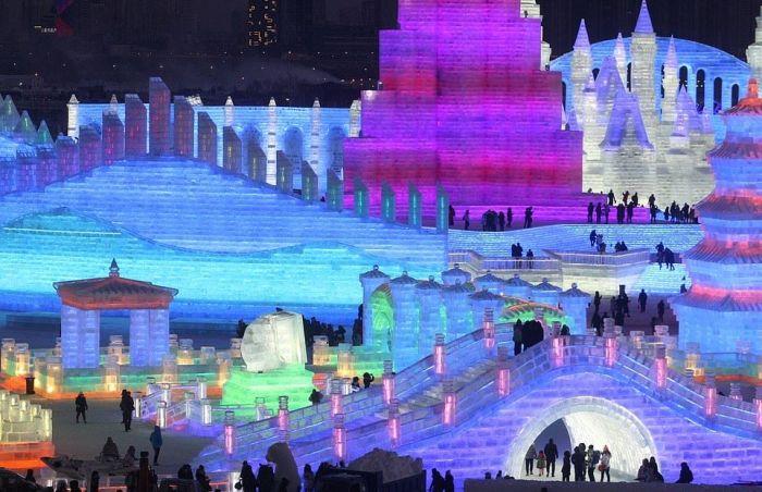 Россияне удивили весь мир, победив в конкурсе ледяных скульптур в Харбине