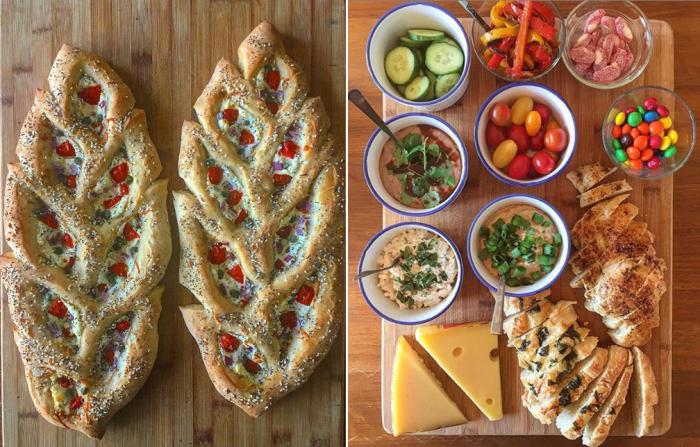 Мастерица добавляет в свой хлеб самые яркие краски.