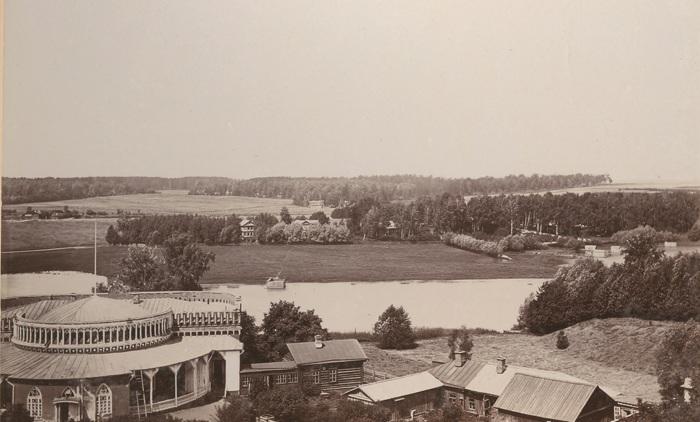 Вид на старое Царицыно (сейчас - Орехово-Борисово Северное), примерно 1900 год. /Фото:pastvu.com