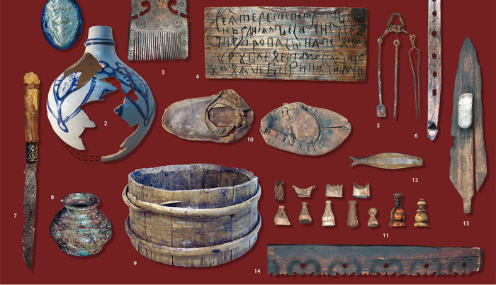 Это только мизерная часть обширной коллекции артефактов, найденных при раскопках. /Фото:oursociety.ru