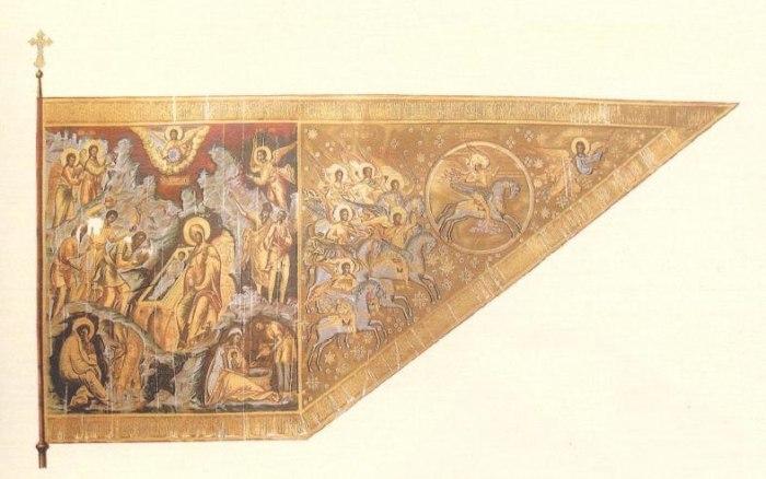 Знамя Большого полка Великого государя царя Алексея Михайловича 1654 года. /Фото: howlingpixel.com