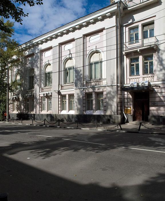 Здание Дома кино на Васильевской. Фото 2009 года. /Фото:.wikipedia.org