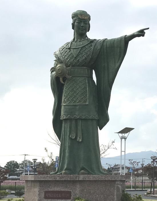 Памятник Химико в Японии. /Фото: wikipedia.org