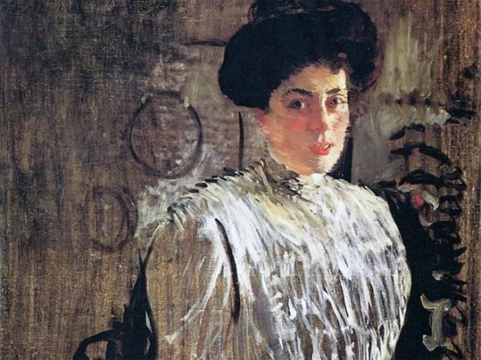 Маргарита Морозова глазами художника Валенина Серова (портрет 1910 г.)
