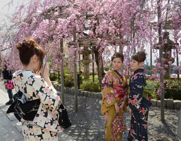 Цветение сакуры в Японии ассоциируется с женской красотой. В этот праздник мужчины чествуют своих дам. /Фото:artofcare.ru