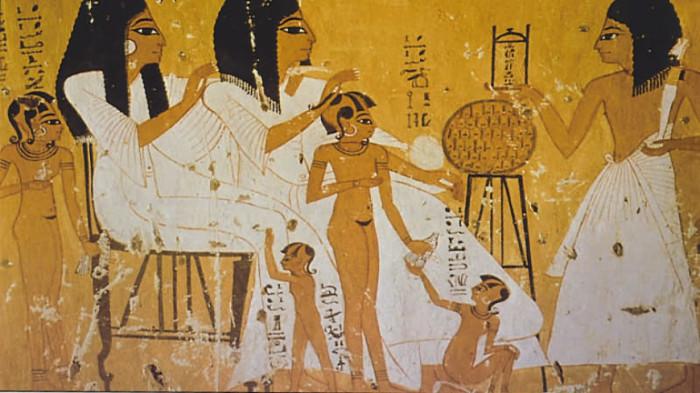 Как рожали в Древнем Египте