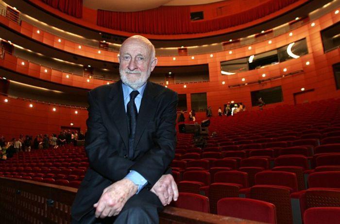 Греготти на открытии театра в 2007 году/Фото:Экс-ан-Прованс
