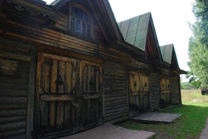 Депо. Образец деревянного зодчества начала прошлого века. /Фото:drive2.ru