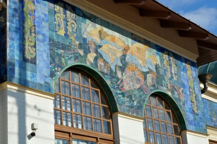 Фрагмент фасада. /Фото:Фото:Michailov-na.livejournal.com