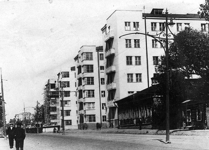 Строительство комплекса общежитий красной профессуры на Большой Пироговской (1931–1932 гг.). /Фото:rossaprimavera.ru