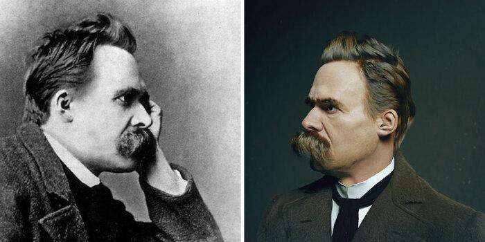 Так выглядел Фридрих Ницше.