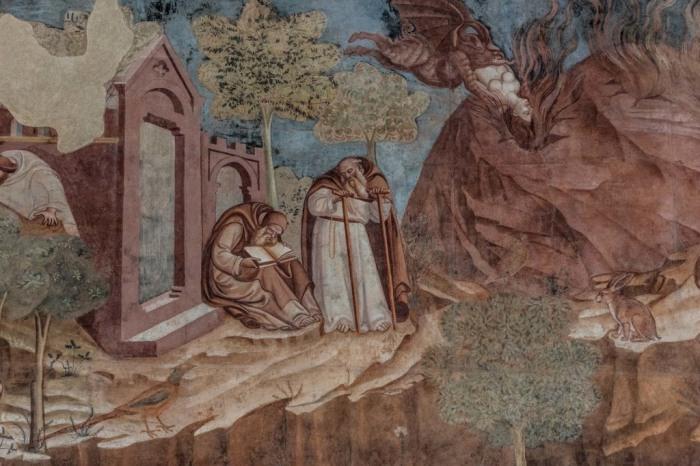 Фрески восстанавливали по сохранившимся синопиям. /Фото:barnum-review.com