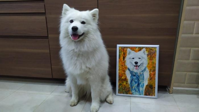 Владельцы очень рады получать портреты своих домашних любимцев и при этом помогать бездомным животным.