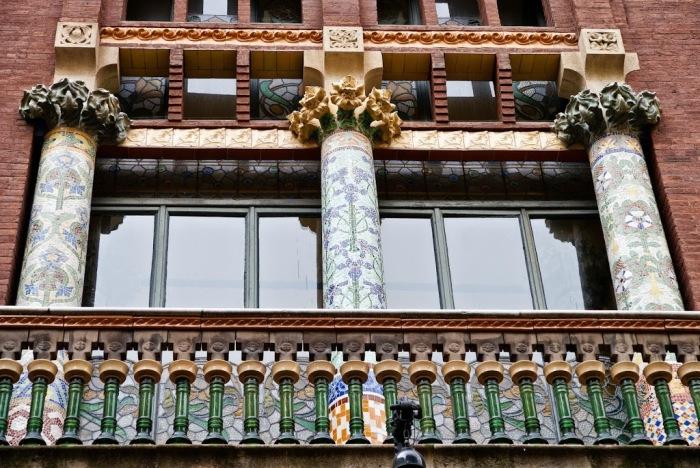Фрагмент фасада. /Фото:liveinternet.ru