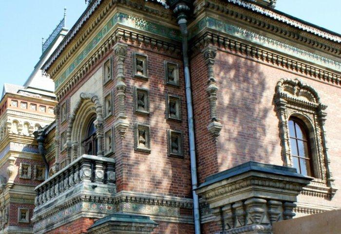 Фрагмент здания. /Фото:irin-v.livejournal.com
