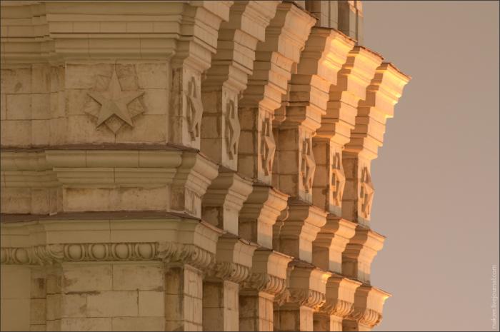 Фрагмент здания. /makzer.livejournal.com
