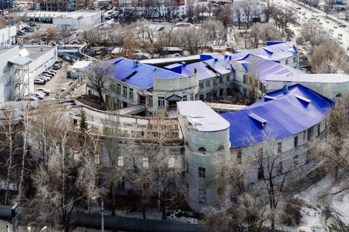 К концу прошлого века облик здания сильно поменялся. /Фото:twimg.com