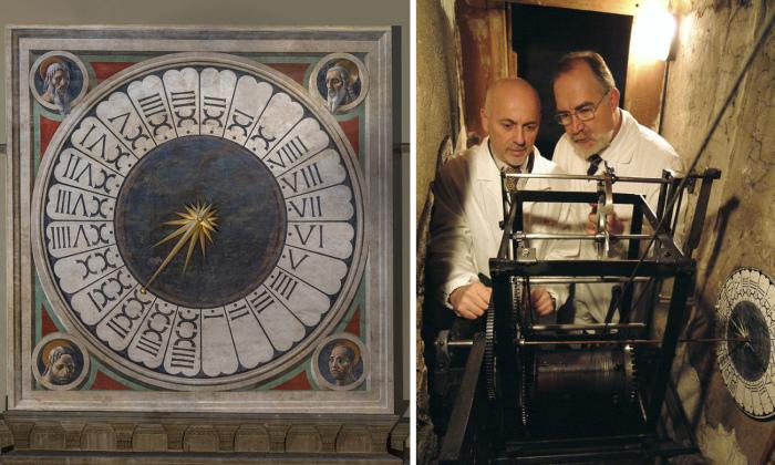 Старинные Часы Дуомо неоднократно реставрировали и ремонтировали. /Фото:avrvm.ru