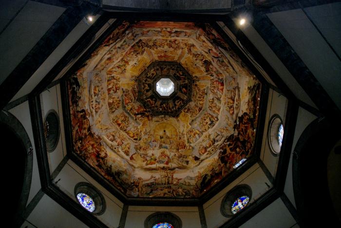 Купол, расписанный на тему Страшного суда. /Фото:Павел Лихачёв