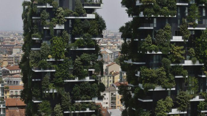 Один из претендентов на премию - проект «Вертикальный лес». / фото:voanews.com