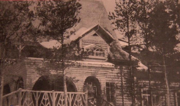 Дача Шаляпина, построенная архитектором в соавторстве с художниками Коровиным и Серовым. /Фото:http://oderihino.ru