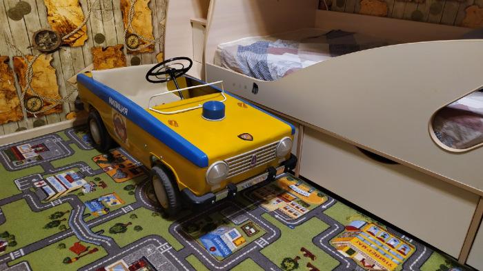Машинка ГАИ от автомастера из Волгограда. /Фото: drive2.ru, пользователь Csepel407