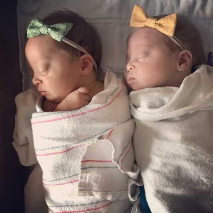 Малышки сразу после рождения.