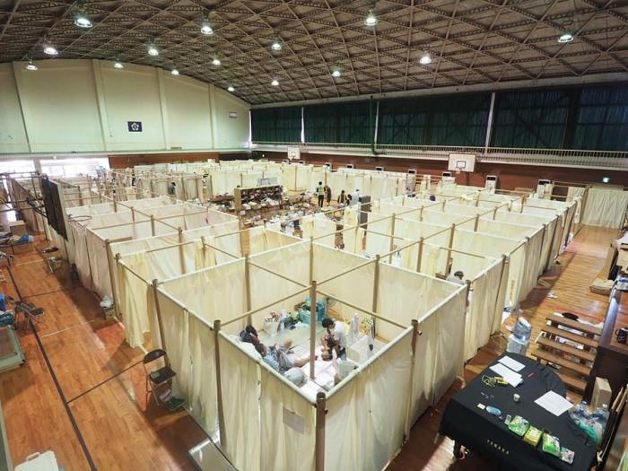 Жилье для беженцев. Япония, 2018. /Фото:shigerubanarchitects.com