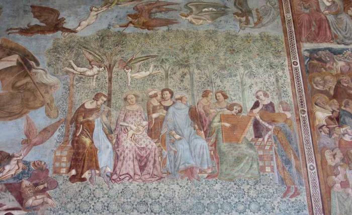 Фрагмент фрески. /Фото:putevye-istorii.ru