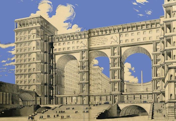 Знаменитый проект Фомина, ради которого предполагалось вдвое увеличить Красную площадь.