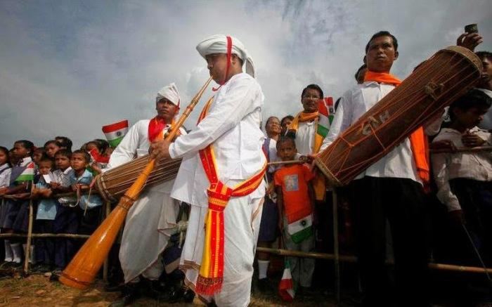 Праздник в долине Джатинга. /Фото:hauntedindia.blogspot.com