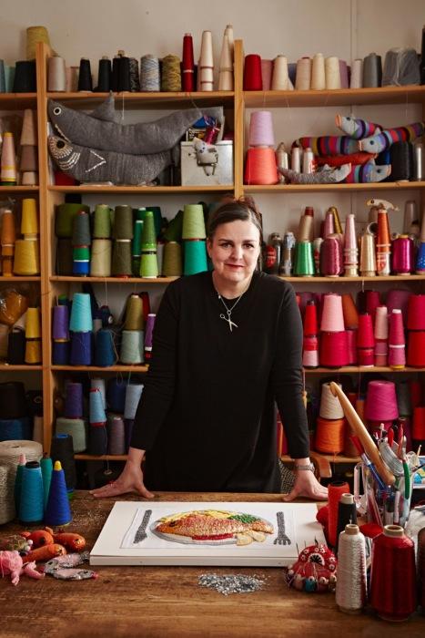 Кейт Дженкинс увлеклась вязанием крючком еще в восьмилетнем возрасте, но свое истинное призвание почувствовала только 12 лет назад. /Фото: Alun Callender