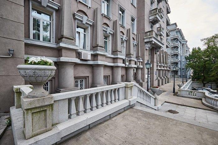 Фрагмент архитектурного комплекса. /Фото:the-village.ru