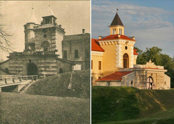 Бип сто лет назад и сейчас. /Фото:anashina.com