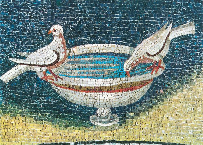 Фрагмент мозаики.
