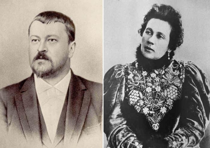 Савва и Зинаида Морозовы прожили вместе почти два десятка лет.